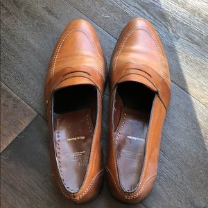 Allen Edmonds tan/brown shoes